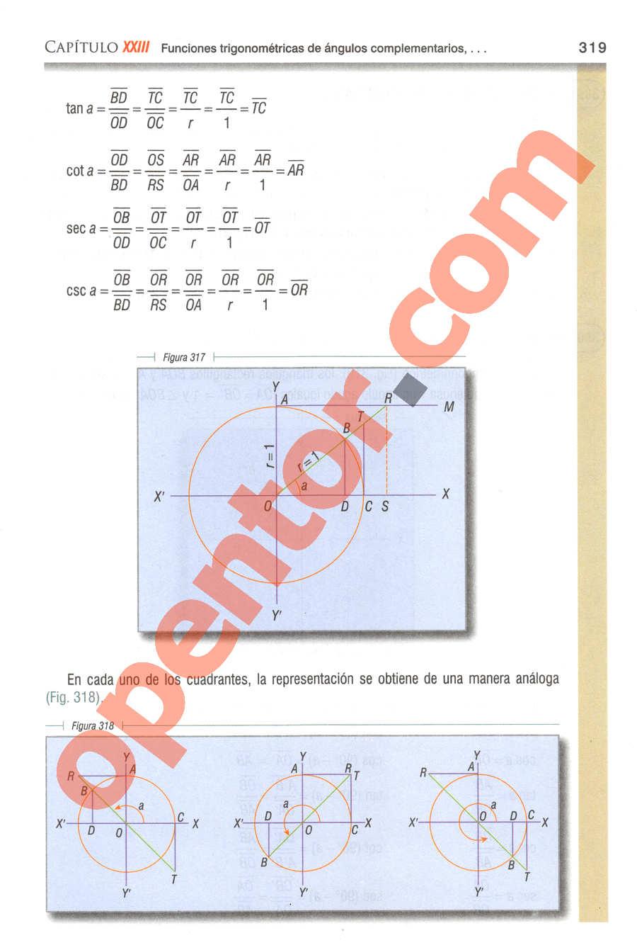 Geometría y Trigonometría de Baldor - Página 317