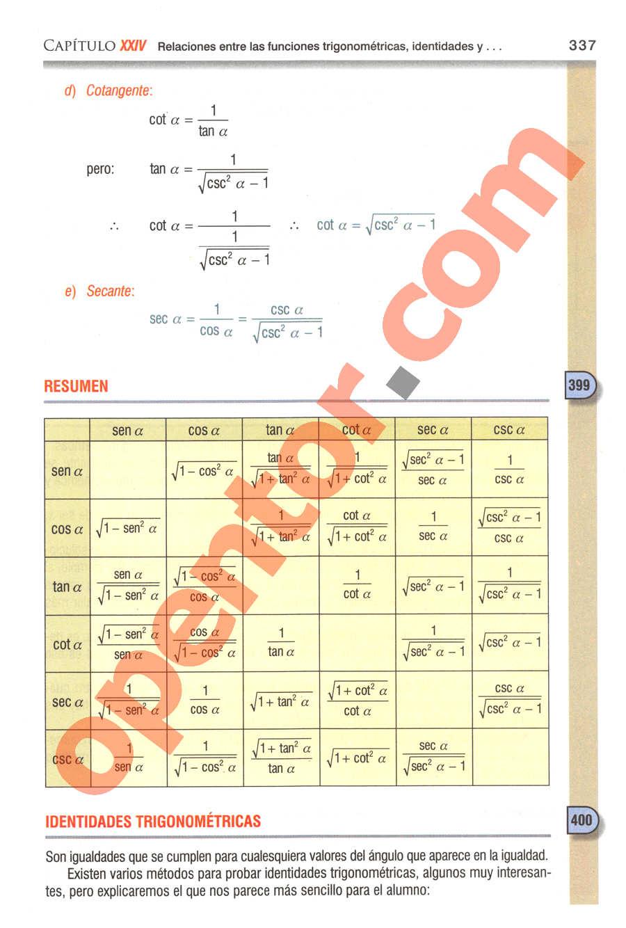 Geometría y Trigonometría de Baldor - Página 337