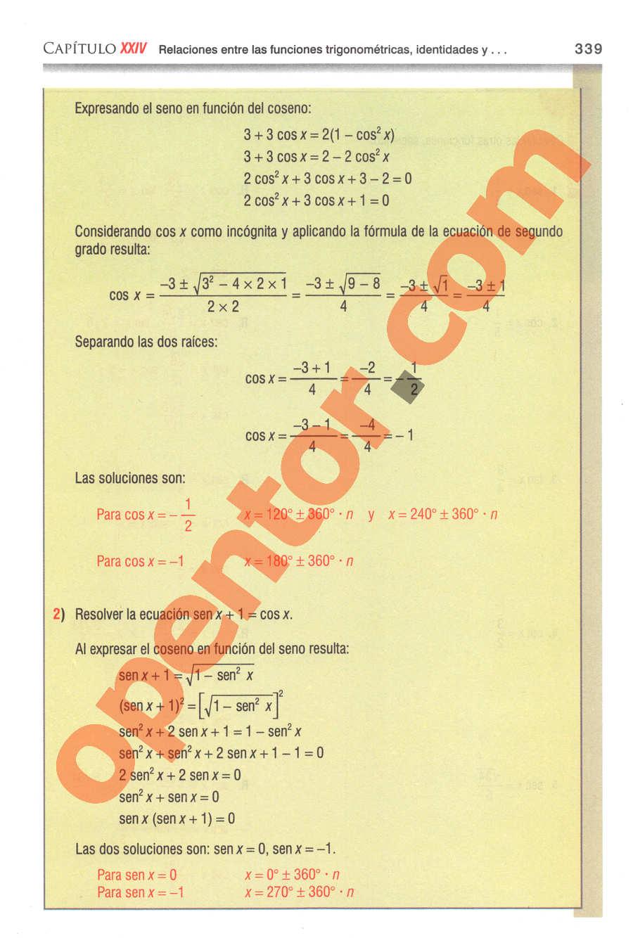 Geometría y Trigonometría de Baldor - Página 339