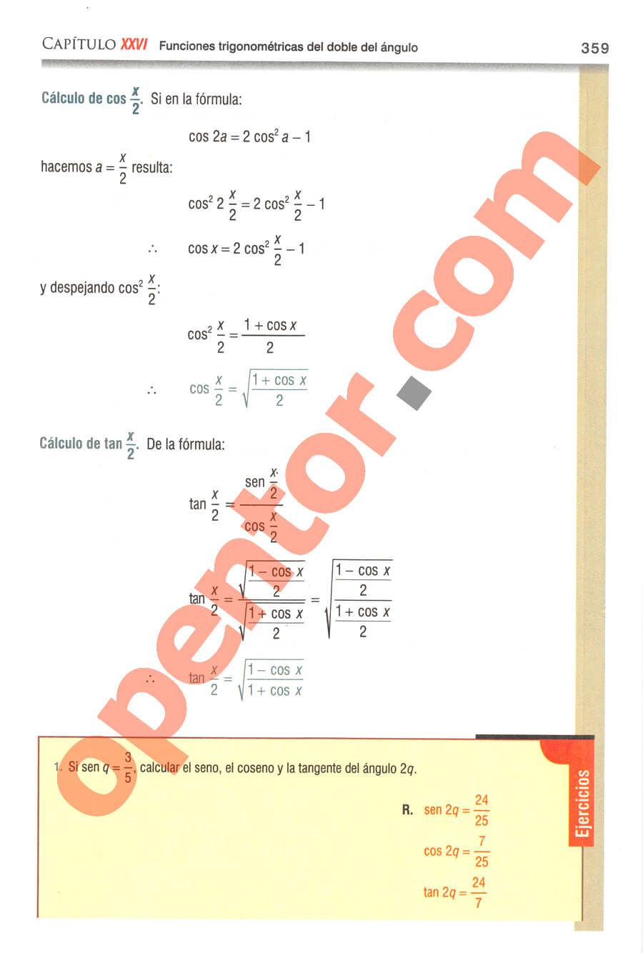 Geometría y Trigonometría de Baldor - Página 359