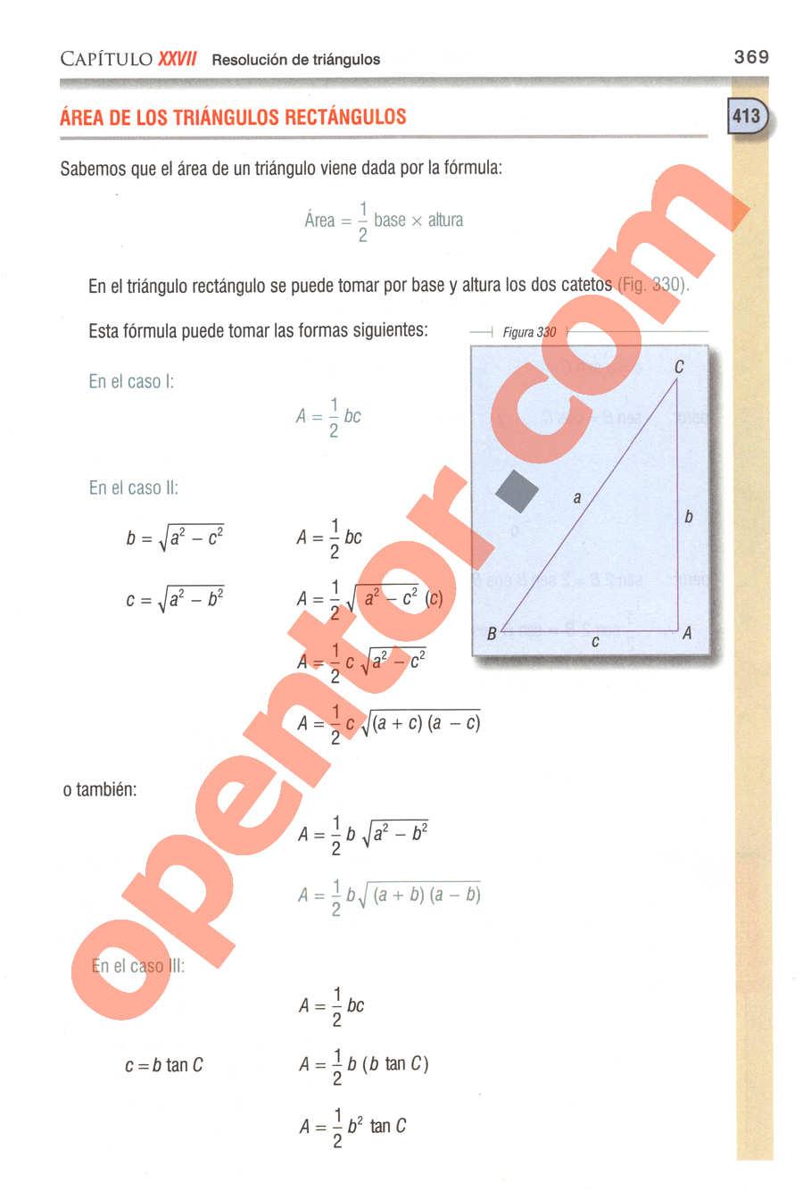 Geometría y Trigonometría de Baldor - Página 369