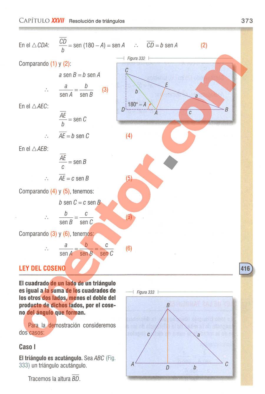 Geometría y Trigonometría de Baldor - Página 373
