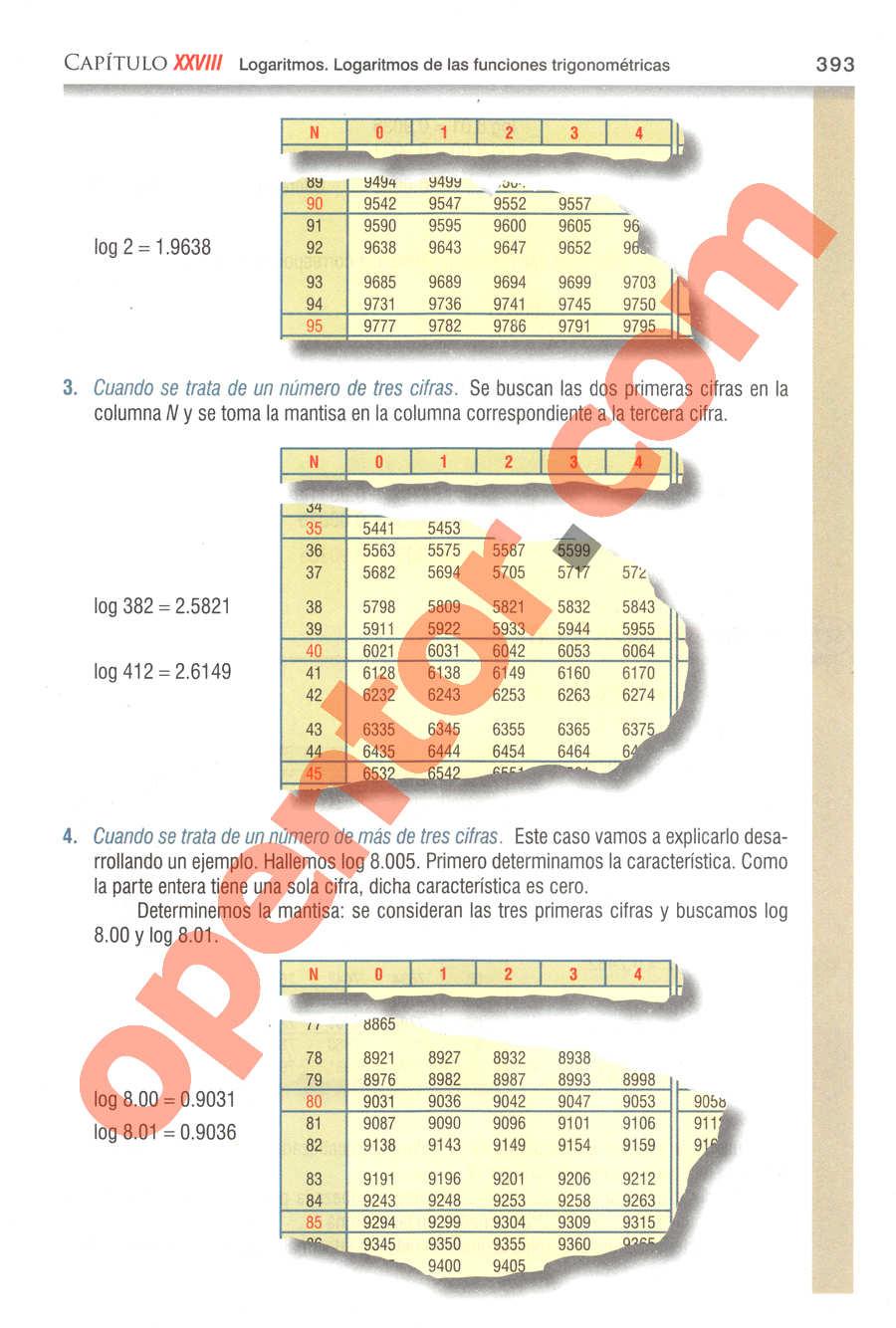 Geometría y Trigonometría de Baldor - Página 393