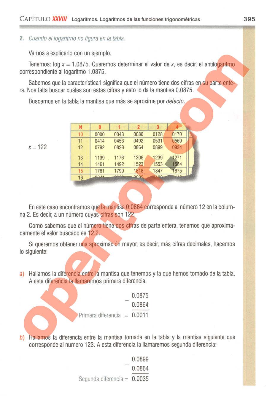 Geometría y Trigonometría de Baldor - Página 395