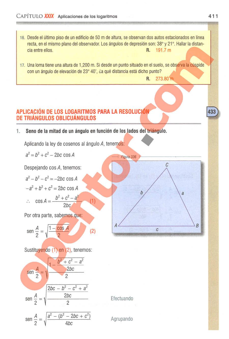 Geometría y Trigonometría de Baldor - Página 411