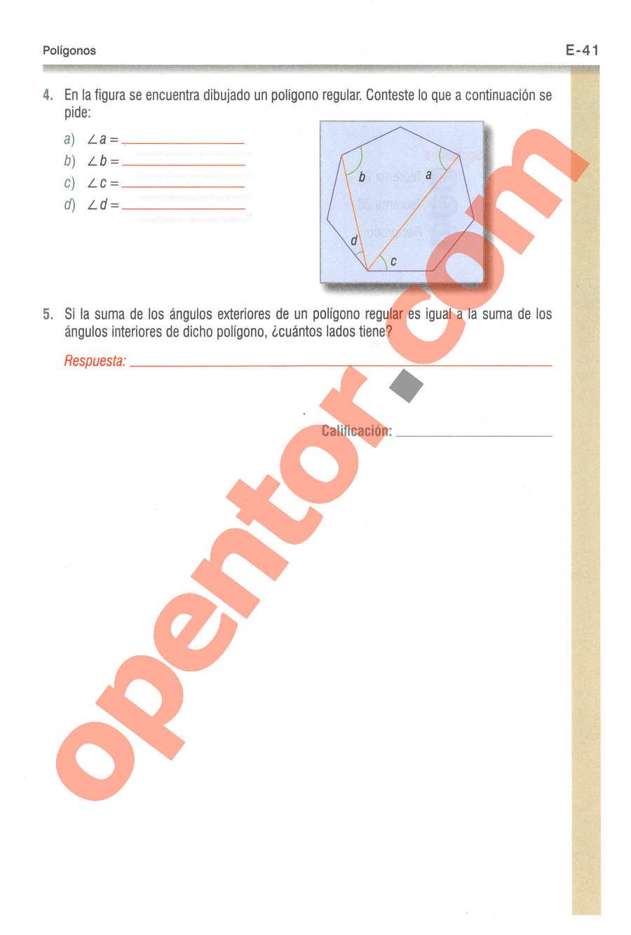 Geometría y Trigonometría de Baldor - Página E41