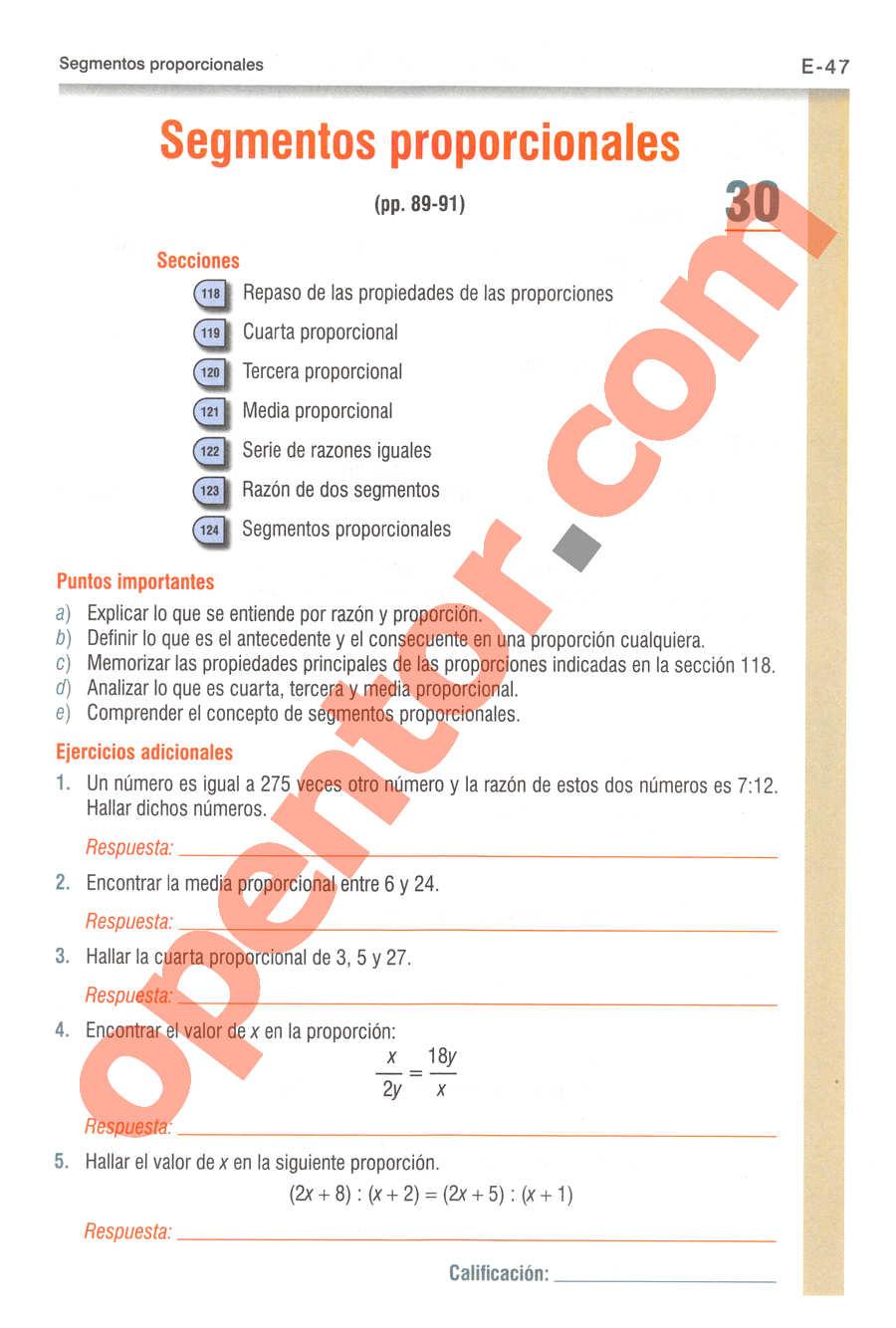 Geometría y Trigonometría de Baldor - Página E47