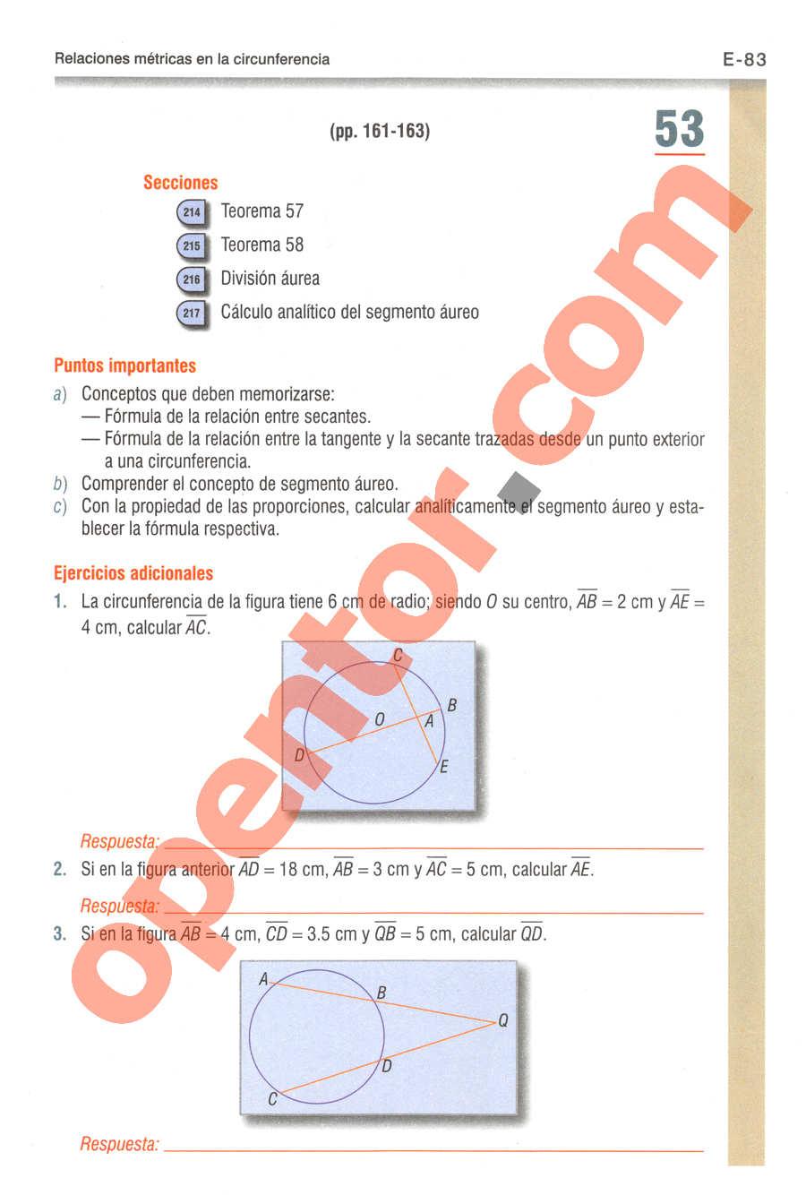 Geometría y Trigonometría de Baldor - Página E83