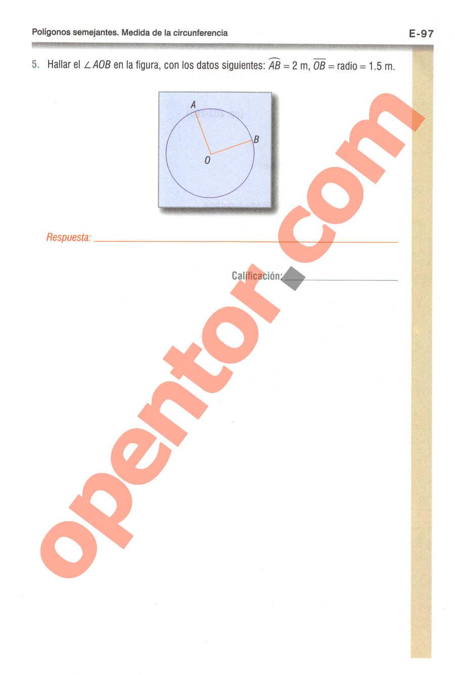 Geometría y Trigonometría de Baldor - Página E97