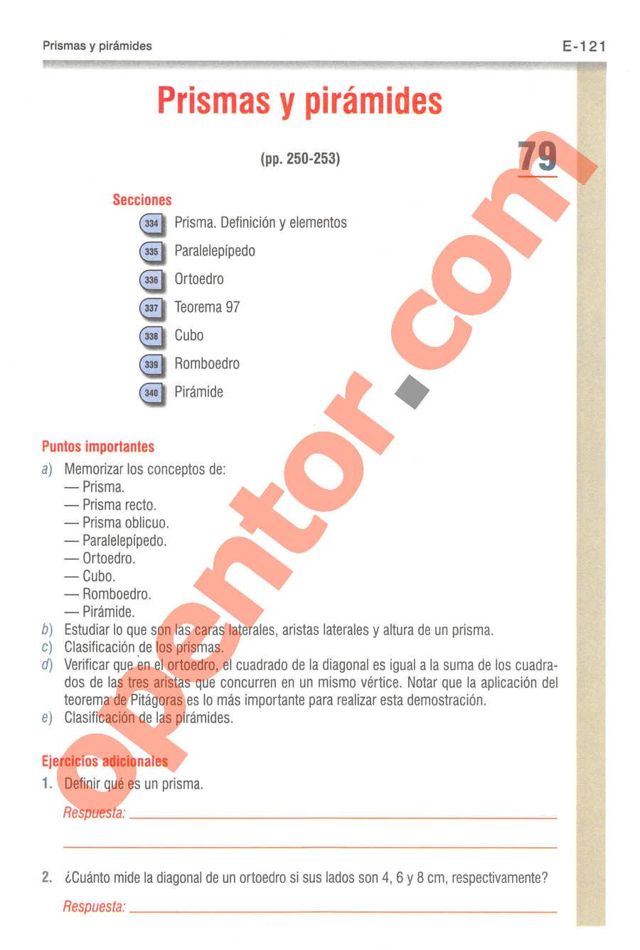 Geometría y Trigonometría de Baldor - Página E121