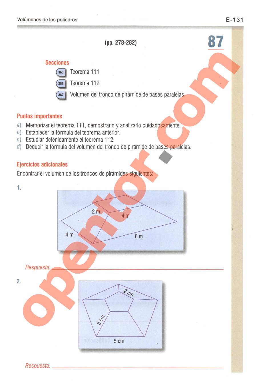 Geometría y Trigonometría de Baldor - Página E131