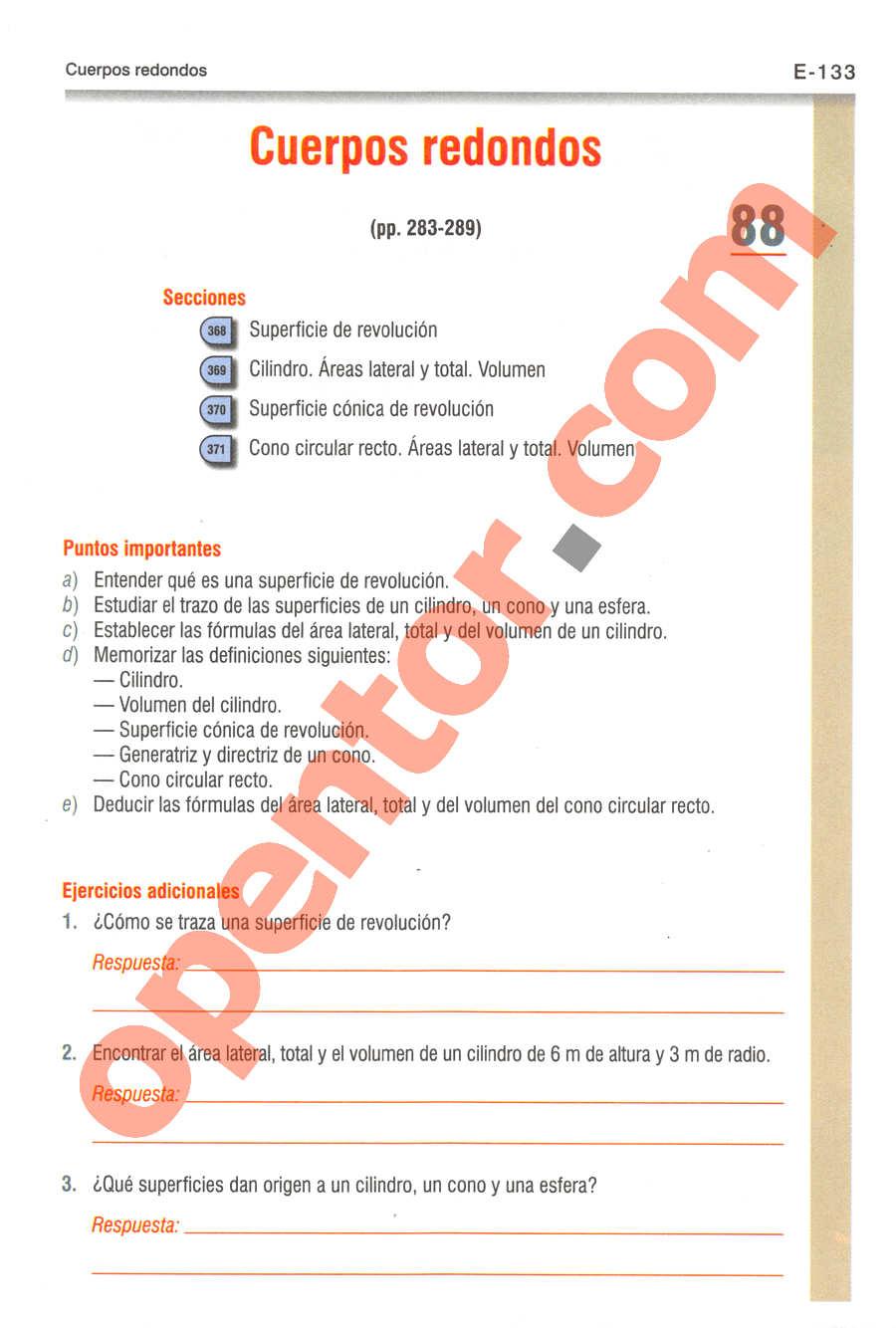 Geometría y Trigonometría de Baldor - Página E133
