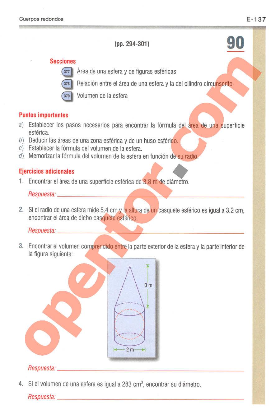 Geometría y Trigonometría de Baldor - Página E137