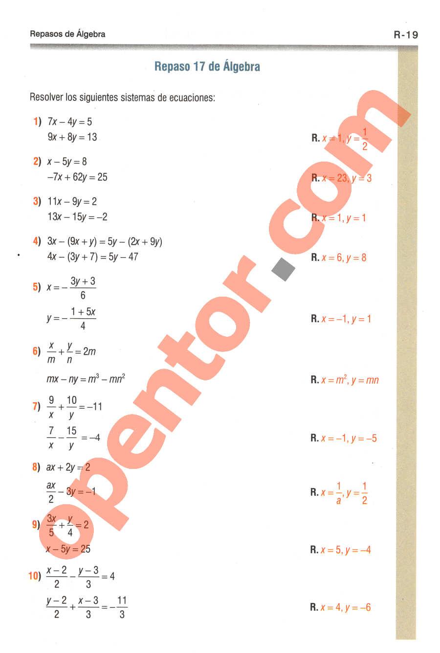 Geometría y Trigonometría de Baldor - Página R19