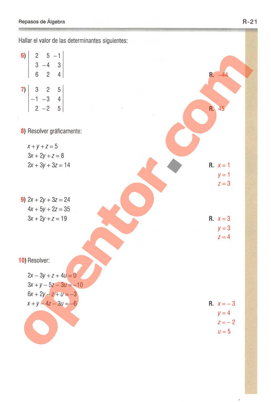 Geometría y Trigonometría de Baldor - Página R21