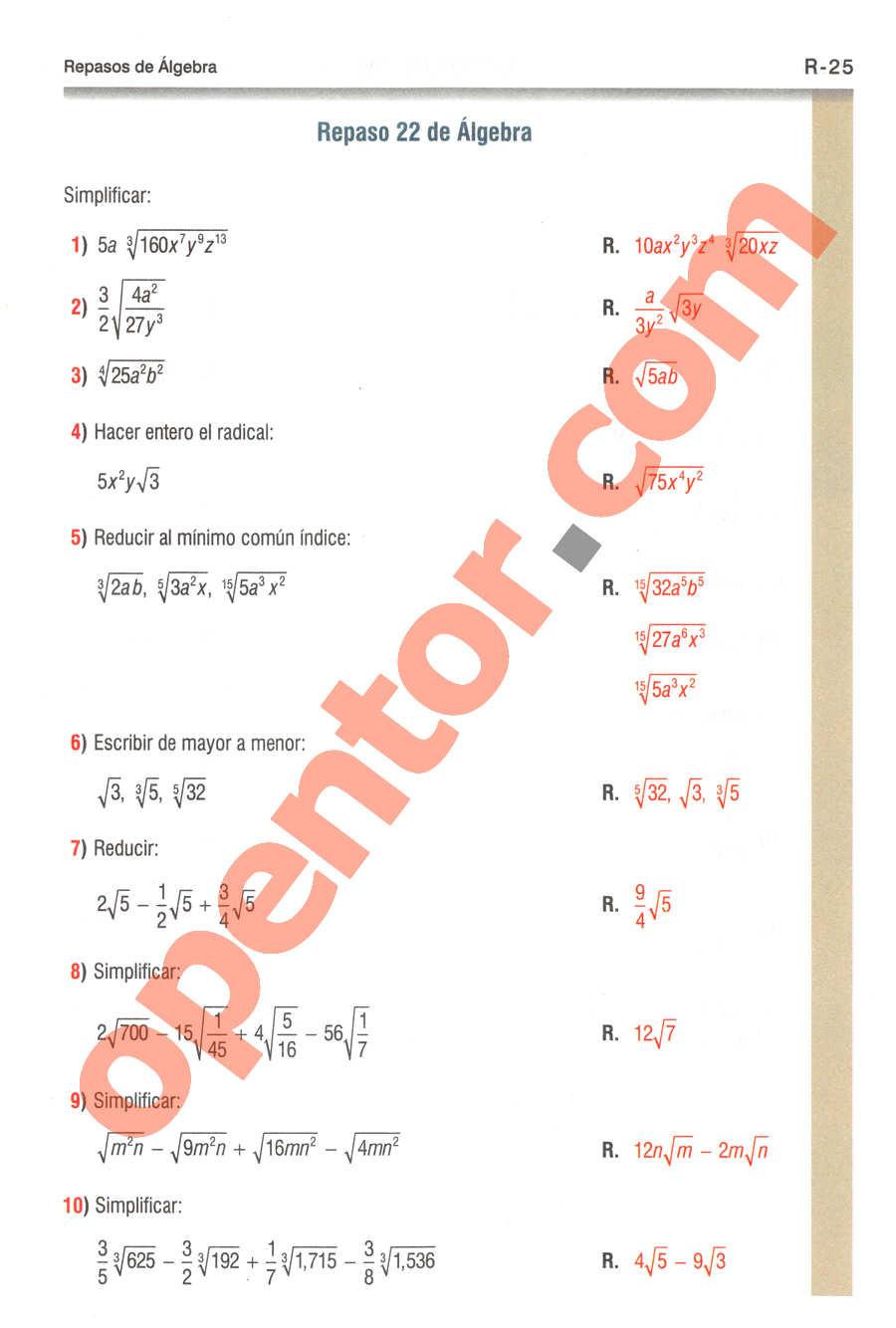 Geometría y Trigonometría de Baldor - Página R25