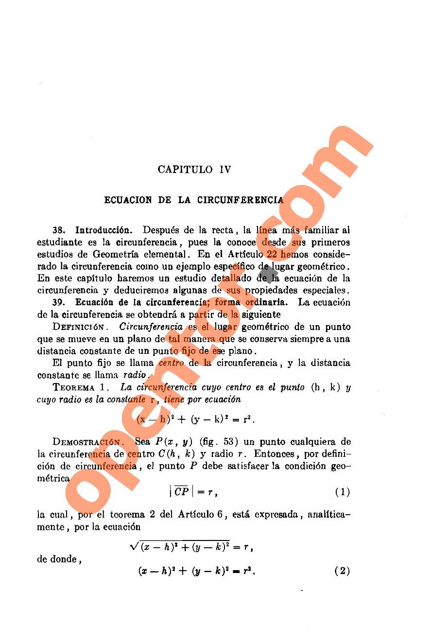 Geometría Analítica de Lehmann - Página 99