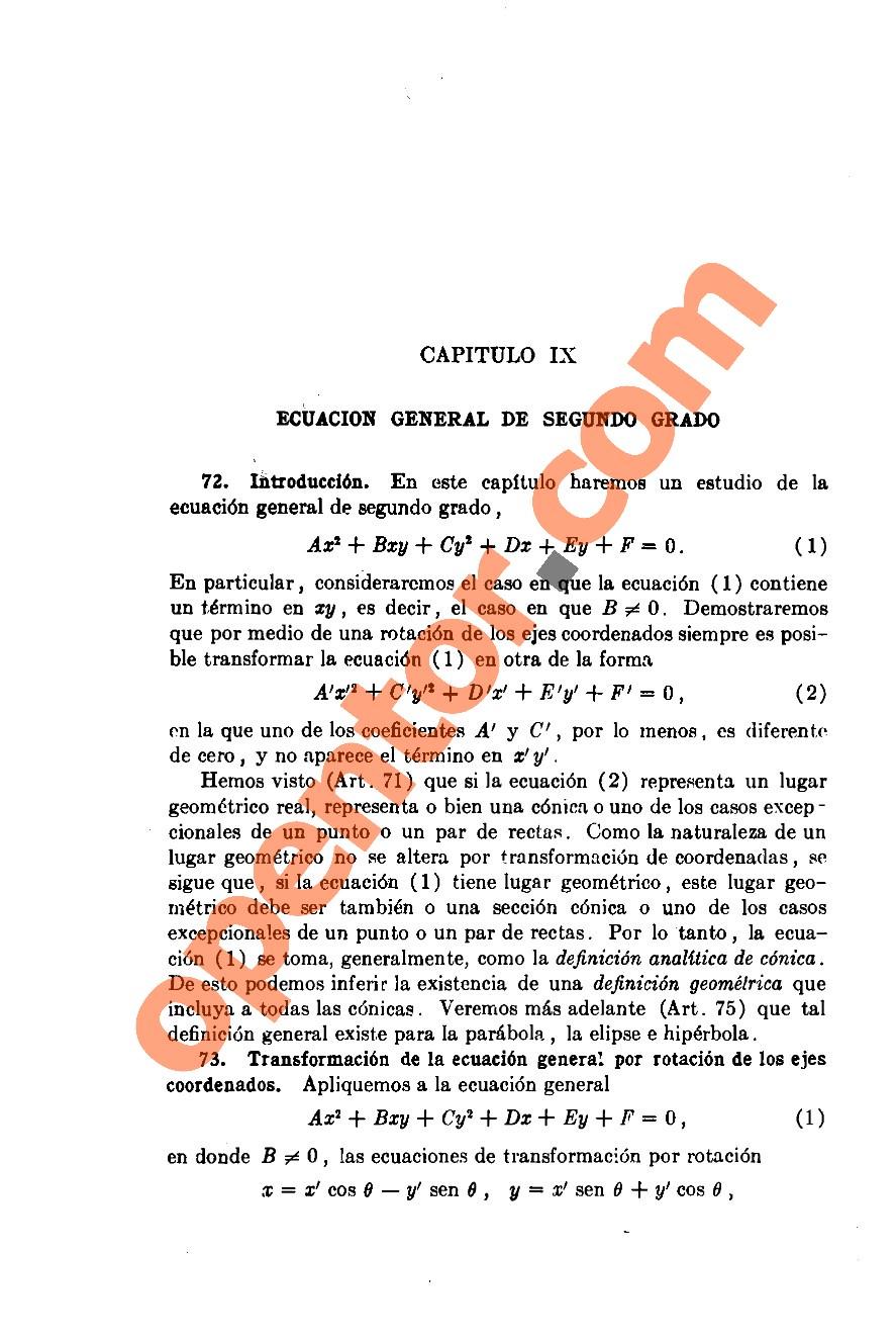 Geometría Analítica de Lehmann - Página 212