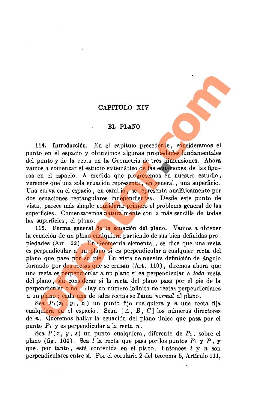 Geometría Analítica de Lehmann - Página 341