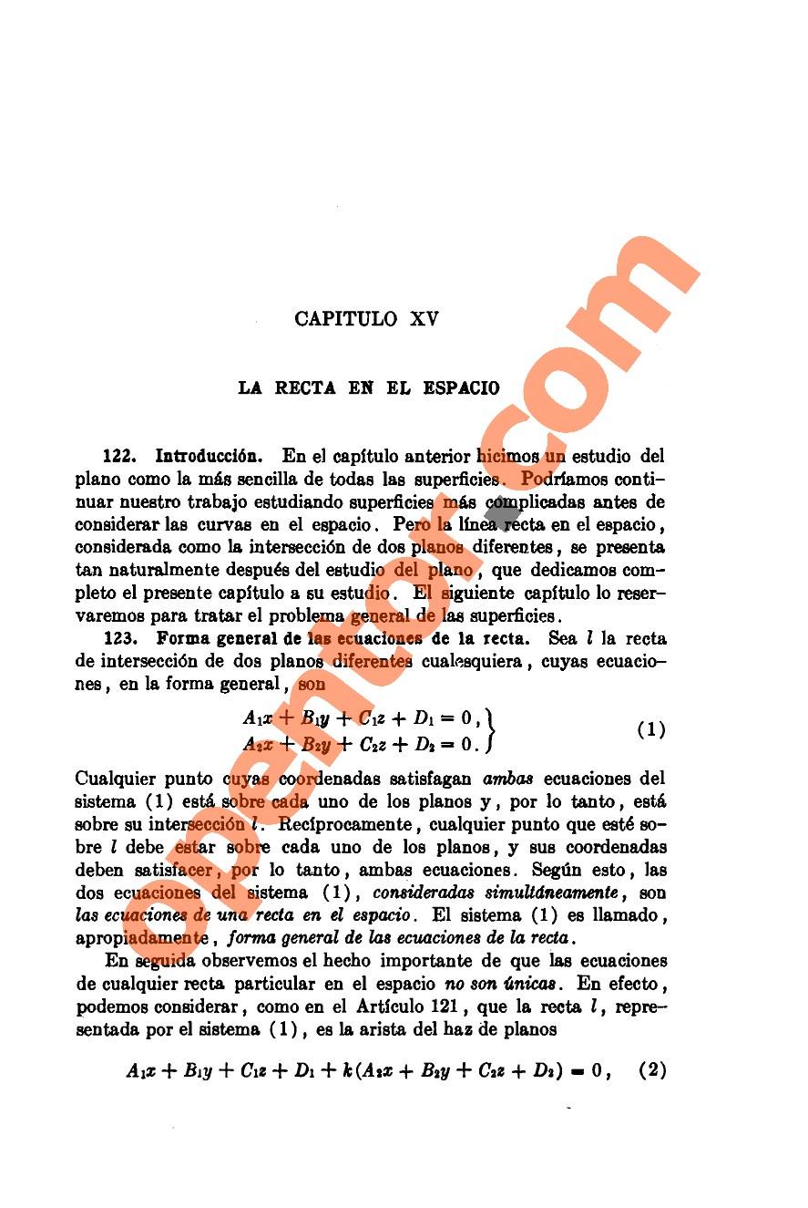 Geometría Analítica de Lehmann - Página 371